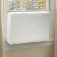 1x Indoor Air Conditioner Cover Home Office Bedroom Window A/C Shield Protector