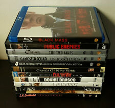 Gangster Movies Lot- Black Mass Donnie Brasco Chinatown L A Confidential +More+