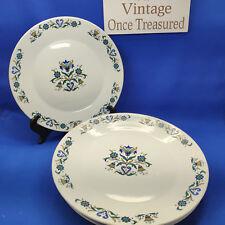 """J&G Meakin Minuet - 6 x Dinner Plates (10"""", 25.5cm) - Vintage 1960s Jessie Tait"""