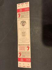 1991 PITTSBURGH PIRATES ATLANTA BRAVES NLCS 7 HOME GAME FULL TICKET MINT UNUSED