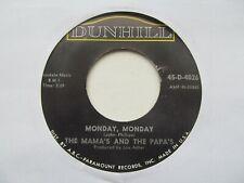 "THE MAMA'S AND THE PAPA'S Monday Monday/Got A Feeling USA 7"" VG+ Cond LD 2"