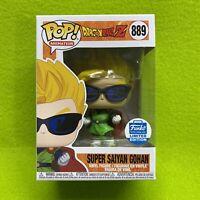Funko Pop! DBZ Dragonball Z Super Saiyan Gohan w/ Sunglasses #889 Shop Exclusive