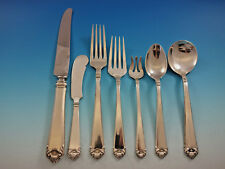 George II by Watson Sterling Silver Flatware Service for 8 Set 56 pieces