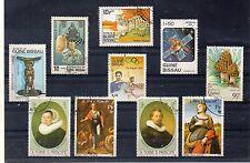 Santo Tomé y Principe valores diversos (DG-35)