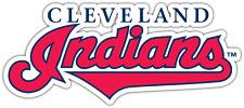"Cleveland Indians MLB Baseball Car Bumper Window Sticker Decal 6""X3"""