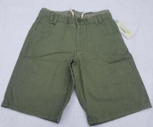 Boys' Fashion Shorts - Green Size 7, 10, & 12 NWT Genuine Kids From Oshkosh.