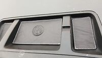 BLACK Leather/WHITE stitch. COINTRAY inserts. VW T5.1 TRANSPORTER - 09' onwards