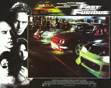 THE FAST AND THE FURIOUS Movie POSTER 11x14 H Vin Diesel Paul Walker Jordana