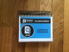 ROGER CPA REVIEW flash cards 2019 AUD