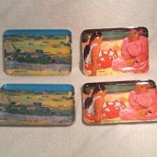 4 Rd Imports Van Gogh & Gauguin Melamine Tip Tray Import Made In Italy