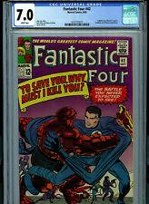 Fantastic Four #42 CGC 7.0 1965 Marvel Comic Amricons B8