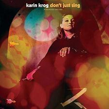 Karin Krog : Don't Just Sing: An Anthology: 1963-1999 CD (2017) ***NEW***