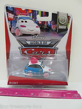 Disney World of Cars TUNERS - SUKI - Die-Cast Vehicle #2 out of 8 - Ages 3+