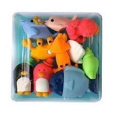 Japanese Eraser 10 pcs Marine Animals Set w/ Box Imported from Japan (#38357)