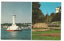 1966 LIGHTHOUSE MISSIONARY CHAPELS  Mackinac Island MICHIGAN MI Postcard
