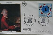 ENVELOPPE PREMIER JOUR SOIE 1991 MOZART