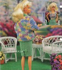 """DRESS & JACKET""~Annie's Crochet PATTERN~PATTERN ONLY fits BARBIE FASHION DOLL"