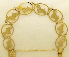 Norwich Terrier Jewelry Gold Bracelet by Touchstone