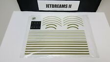1/400 SCALE GEMINI JETS MODEL AIRPORT GRAPHIC DECAL SHEET STRIPE KIT #GJAPS007