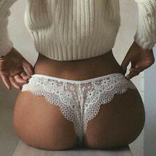 Plus Size Women Ladies Sexy Lace Lingerie G-String Panties Thong Briefs Knickers