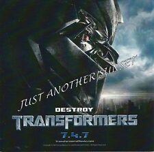 Transformers Movie 2007 Deceptacon Promo Sticker New