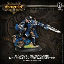 Warmachine: Mercenaries Magnus the Warlord Epic Warcaster PIP 41033