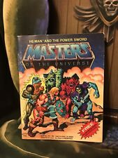 He-Man And The Power Sword Masters Of The Universe Vintage MOTU Mini Comic!
