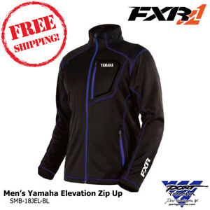 Men's Yamaha Elevation Zip-up by FXR Mid layer  SM MD LG XL 2X 3X SMB-18JEL-BL