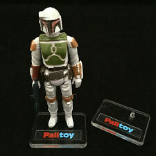 5 x DELUXE VINTAGE STAR WARS ACTION FIGURE DISPLAY STANDS (BRAND-NEW) - PALITOY