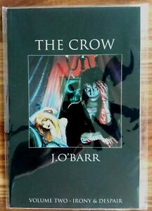 THE CROW - J. O'Barr - Graphic Novels - First Printing 1992 Tundra Publishing