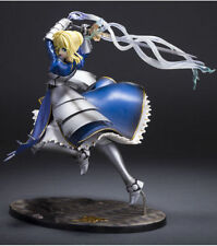 "New Anime Excalibur 10"" Fate/Stay Night Blue Saber Lily Avalon Triumphant Figure"