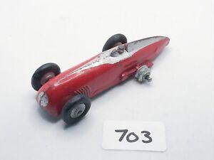 VINTAGE DINKY TOYS # 23A HOTCHKISS RACING CAR DIECAST MODEL V RARE COLOUR 1940S