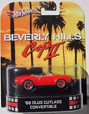 HOT WHEELS 2013 RETRO CLASSIC BEVERLY HILLS II '68 OLDS CUTLASS CONVERTIBLE