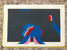 """1967 Contemporary Art #1 Of 10 Space """"We Do Have Lift Off"""" by SA KNOWLES"""