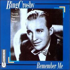 Remember Me Crosby, Bing MUSIC CD