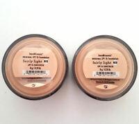 2 Pack of Bareminerals Original Fairly Light Escentuals Foundation 8g N10 SPF15