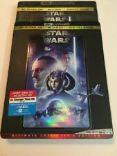 Star Wars The Phantom Menace w/ Slipcover (4K + Blu-Ray + Digital)