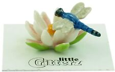 "LC845 - Little Critterz - Dragonfly/Water Lily  ""Bluet"" (Buy any 5 get 6th free!"