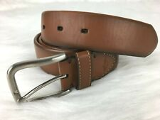 Dockers Brown Mens Belt Size Small 30 32 Imitation Leather
