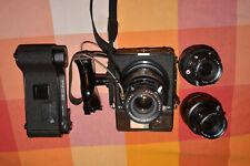 Mamiya Universal Press Mittelformat Kamera mit Wechseloptik und Rollfilm Halter