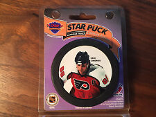 NHL PHILADELPHIA FLYERS ERIC LINDROS  PICTURE HOCKEY PUCK