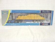 Corgi 1/50 76801 Man Artic Tractor Trailer Sheet Load Stiller Transport Mib