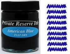 PRIVATE RESERVE - Fountain Pen Ink Bottle - AMERICAN BLUE FAST DRY -  66ml - New