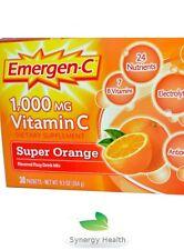 Emergen-C Vitamin C, Super Orange Freepost SYNERGY UK