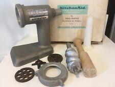 Vintage KitchenAid Hobart Food Chopper Meat Grinder