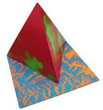 "TAUBA AUERBACH Limited Edition Fold Pop-Up 12"" Vinyl Record Cover Art Sculpture"
