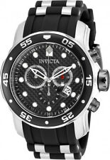 Invicta Men's Pro Diver Chrono 200m Stainless Steel Polyurethane Watch 17879