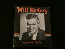WILL ROGERS Saalfield Big Little Book VG Condition