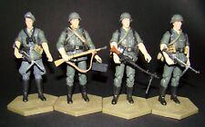 1:18 Ourwar WWII German Wehrmacht Luftwaffe Waffen SS Figure Soldier Squad Set C