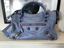 Balenciaga Part Time sac en bleu